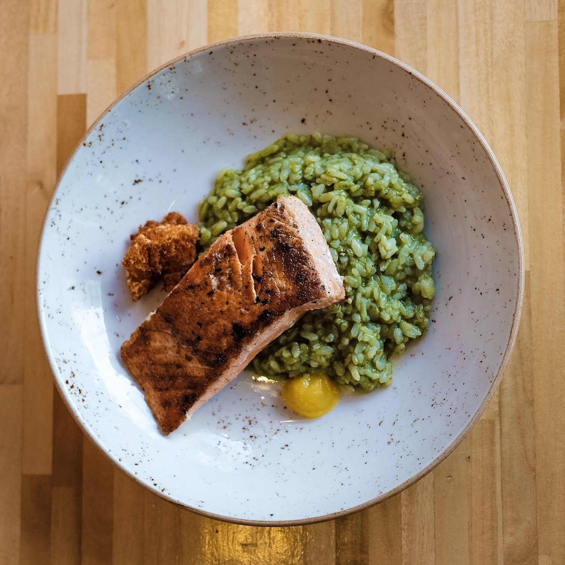 Soho-Park-Mains-Salmon-Risotto